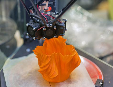 istock 3D printer closeup 924521540