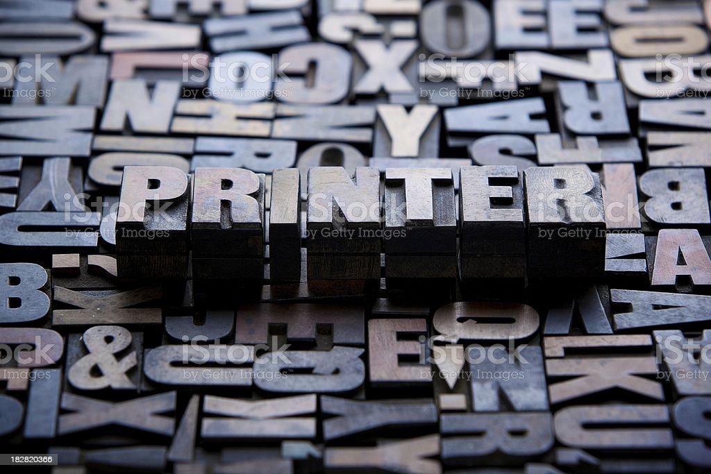 Printer... royalty-free stock photo