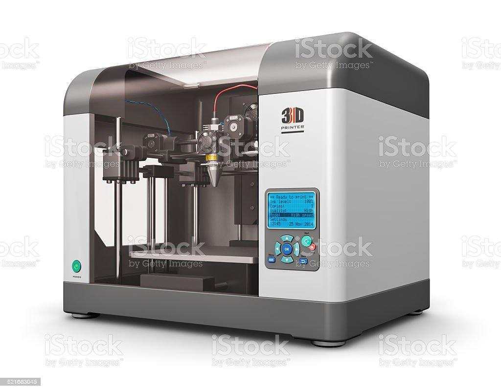 3D printer bildbanksfoto