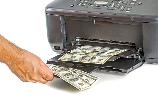 Best Money Printer Stock Photos, Pictures & Royalty-Free Images - iStock