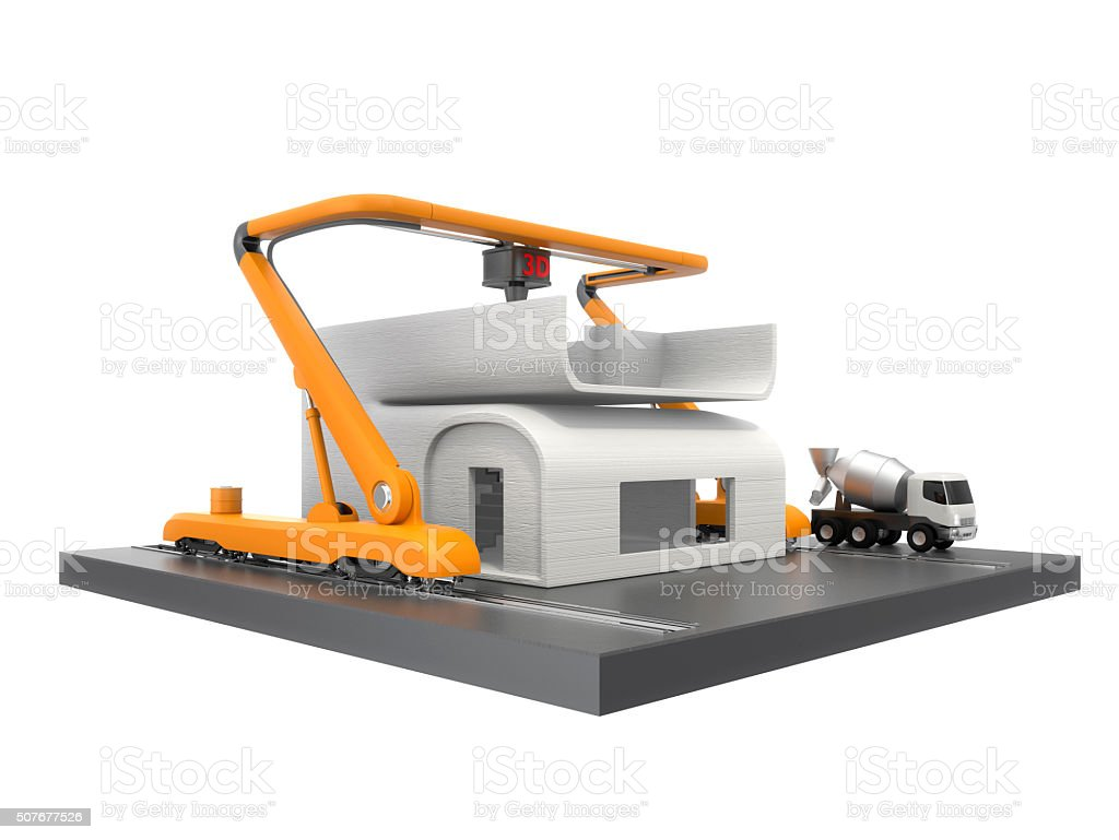 3d Printer Printing Ho...