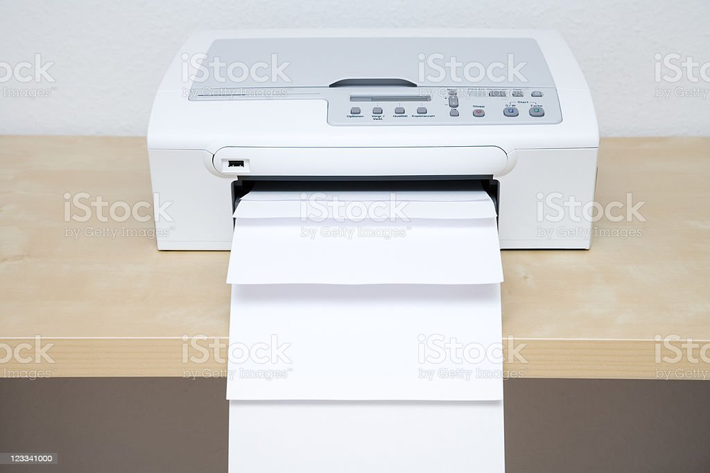 Printer Series royalty-free stock photo