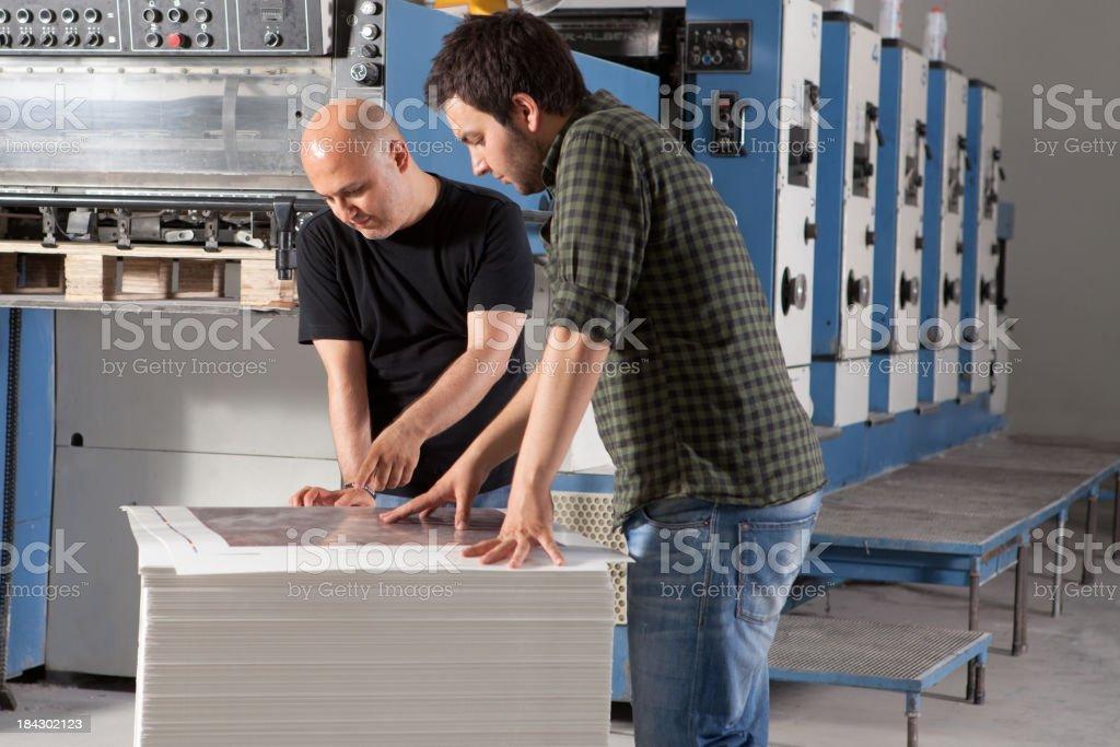Printers royalty-free stock photo
