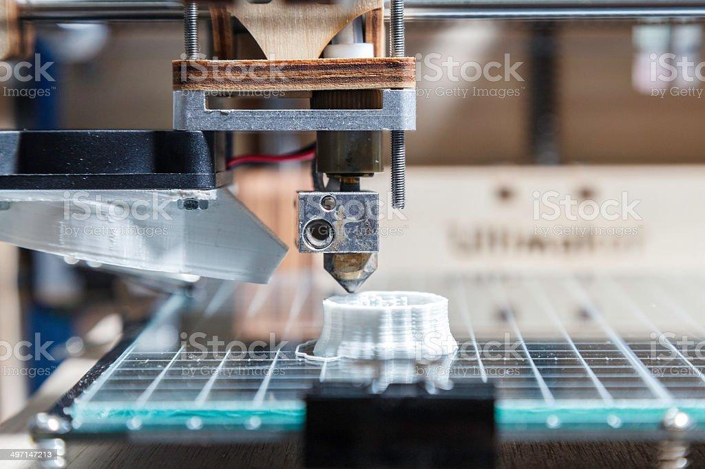 3 D detalles de impresión - foto de stock