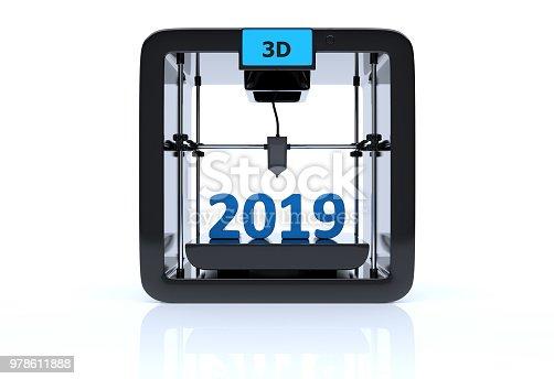 1063751940 istock photo 2019 3D printing digital concept 978611888
