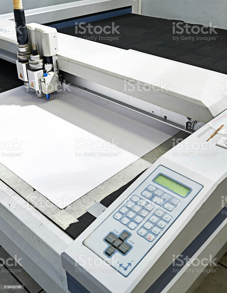 Printing done to perfection stock photo