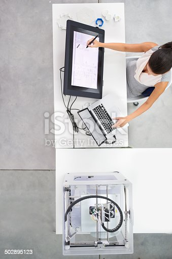 istock Printing has just gone 3D 502895123