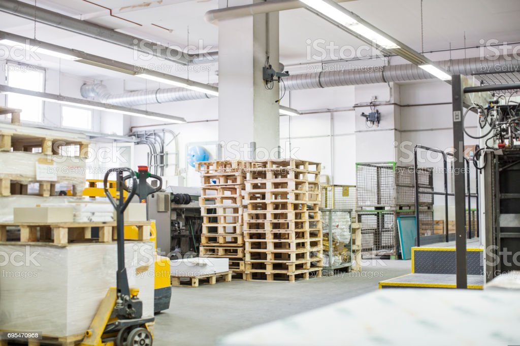 Druck-Industrie-Lager – Foto