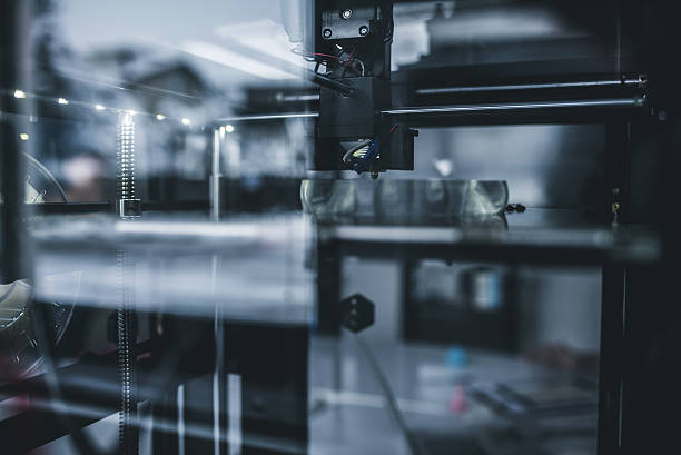 3D printing innovation stock photo