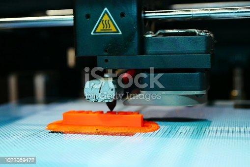 istock 3D Printing Machine - 1022059472
