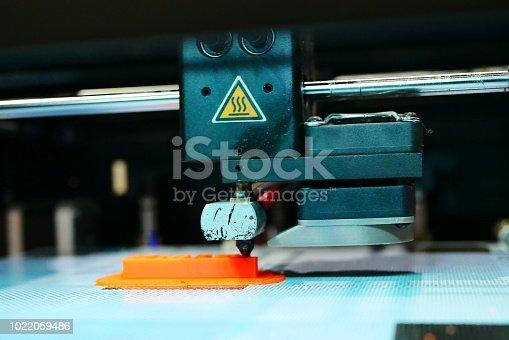 istock 3D Printing Machine - 1022059486