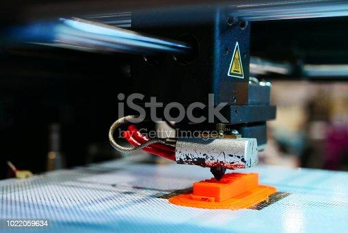 istock 3D Printing Machine - 1022059634