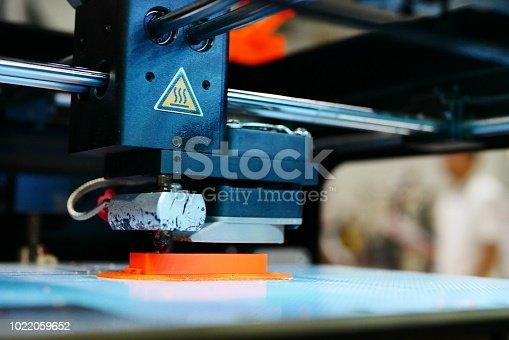 istock 3D Printing Machine - 1022059652