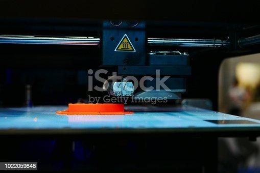 istock 3D Printing Machine - 1022059848