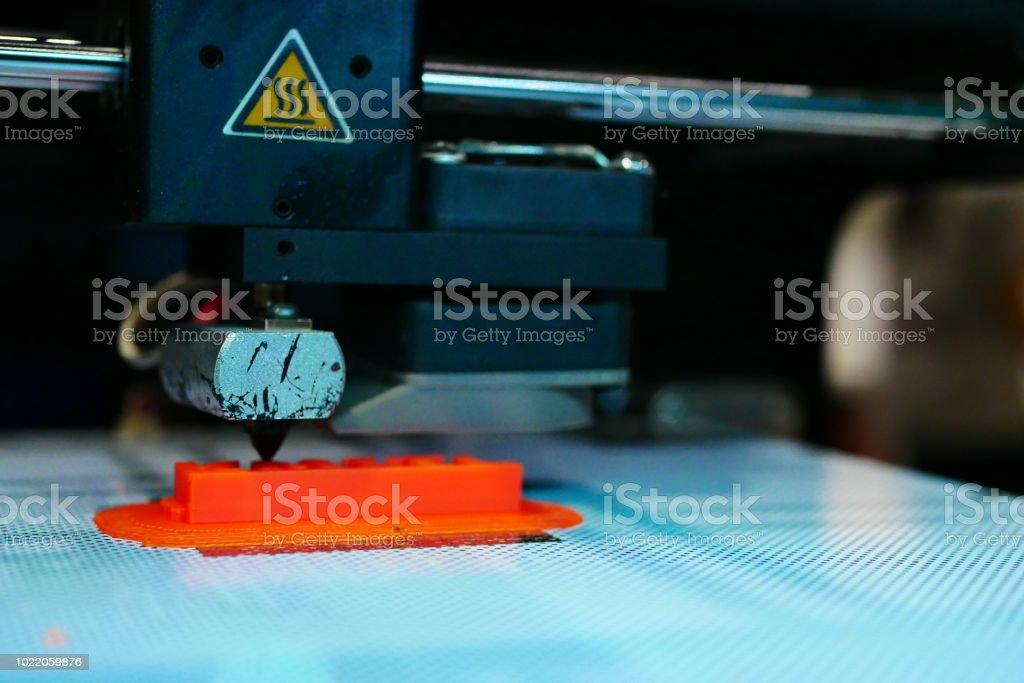 3D Printing Machine - stock photo
