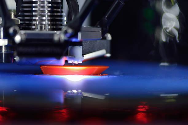 3D Printing Machine stock photo