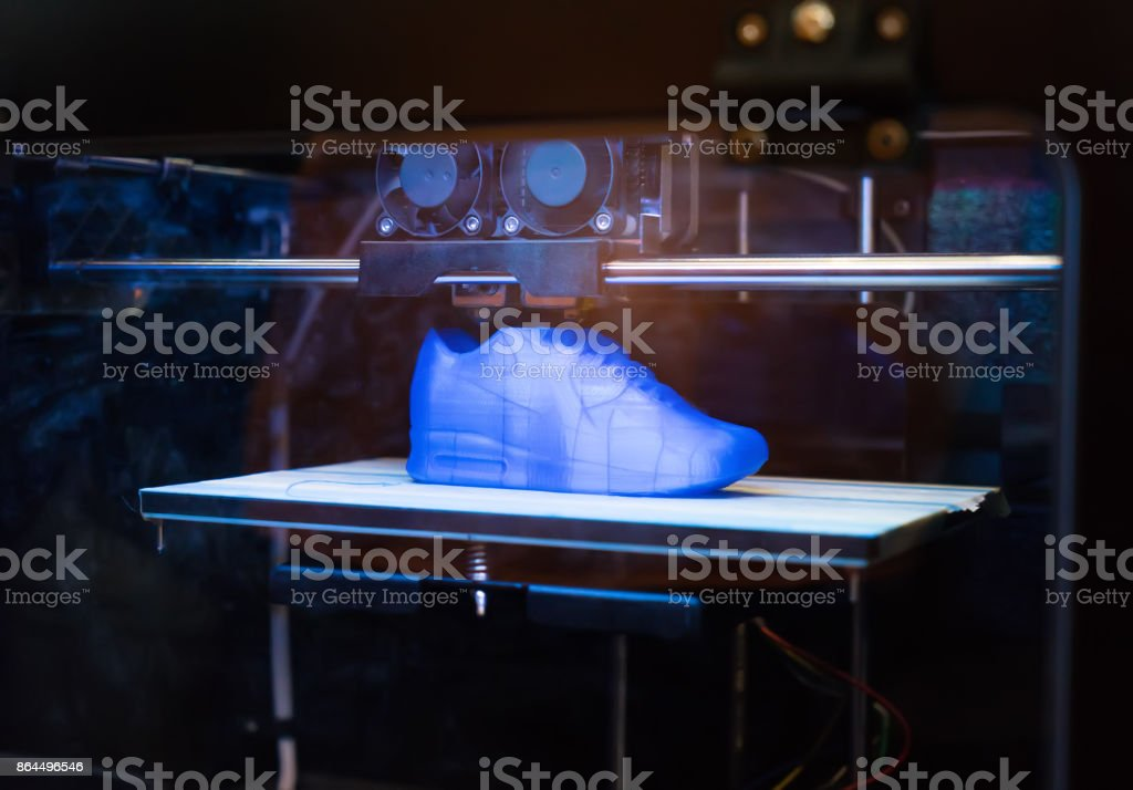 3D Printing Machine stock photo