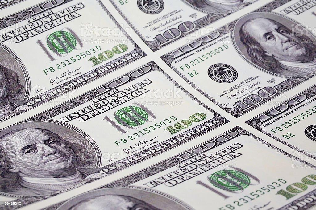 Impressão de dinheiro - Foto de stock de Carinhoso royalty-free
