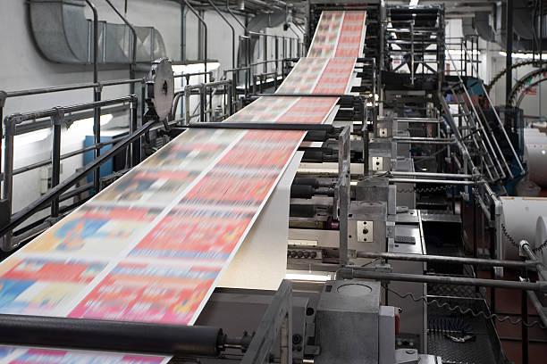 Drucken Zeitungen – Foto