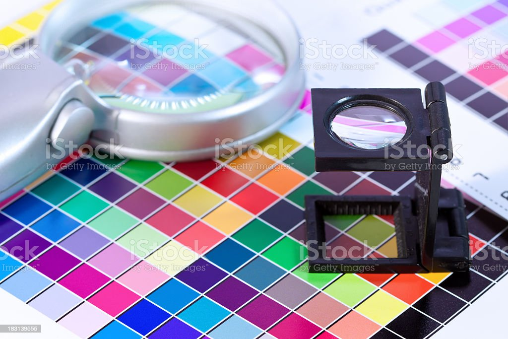 Printing Out royalty-free stock photo