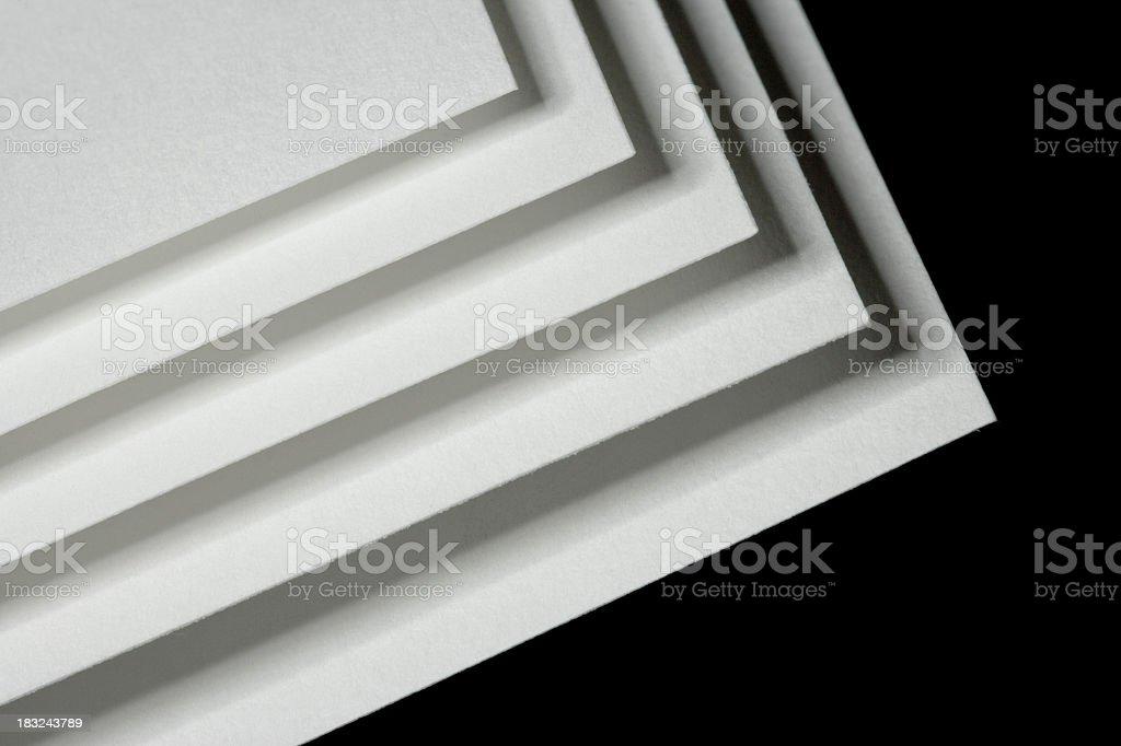 Printing paper royalty-free stock photo