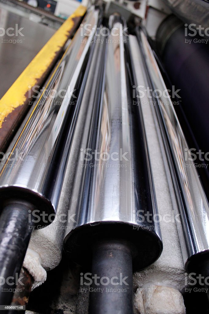 'Printing plant' roller stock photo