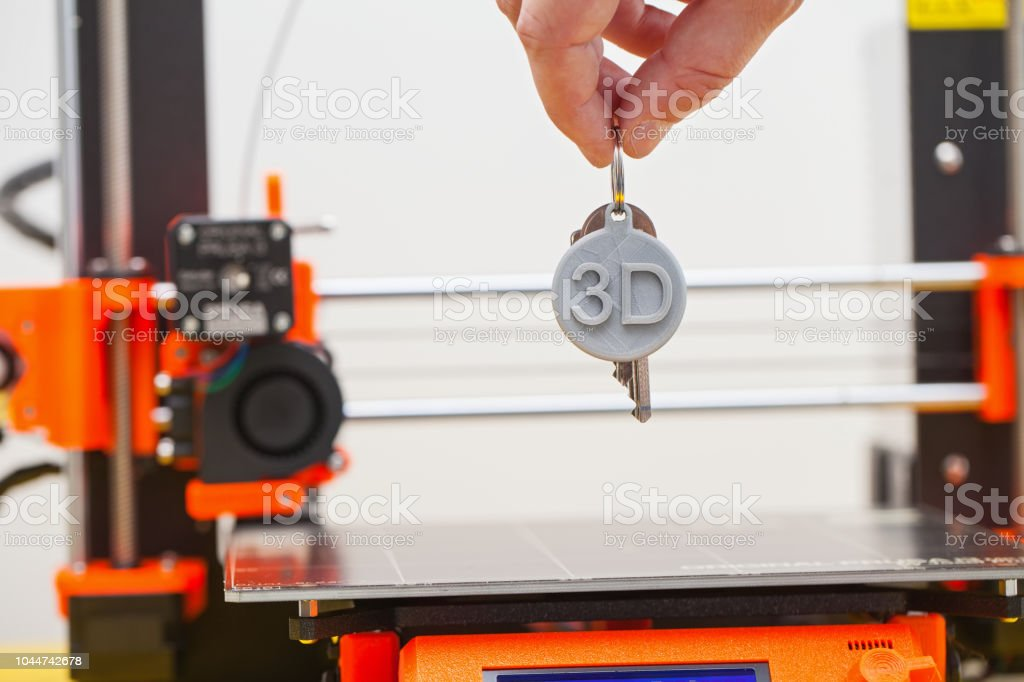Impression 3D. Figure en plastique - Photo