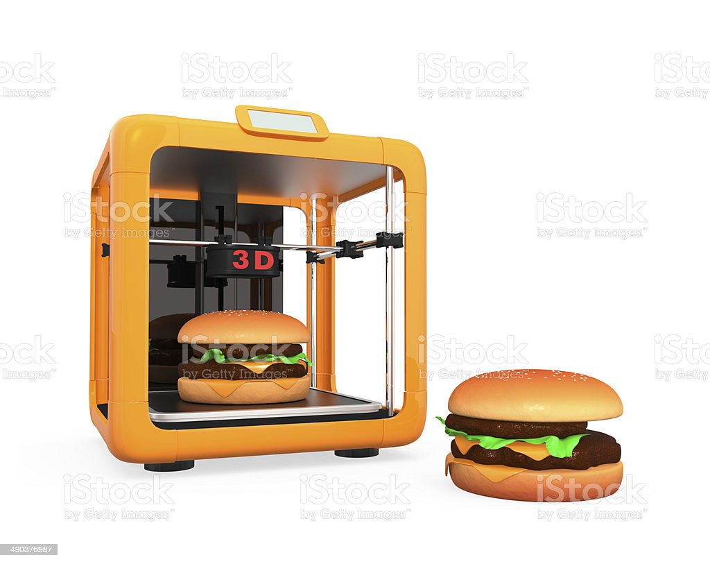 3D printing technology for food concept foto
