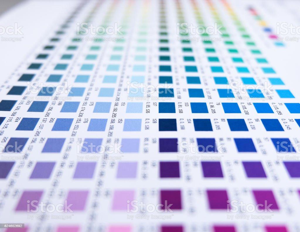 Fotografía de Prueba De Impresión y más banco de imágenes de Color ...