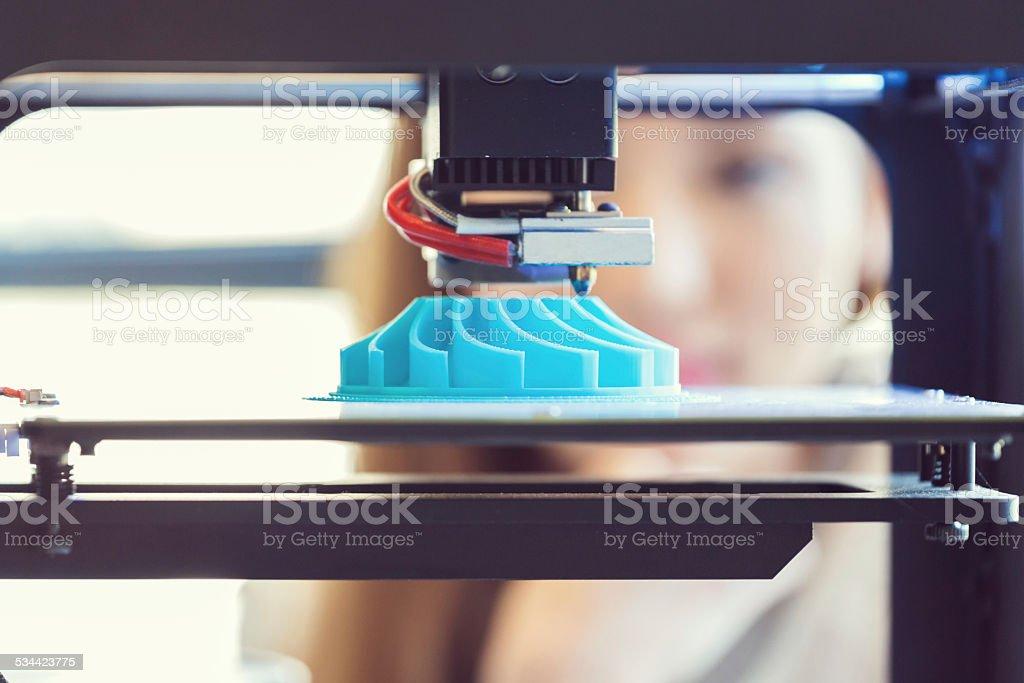 3 D Computerausdruck – Foto