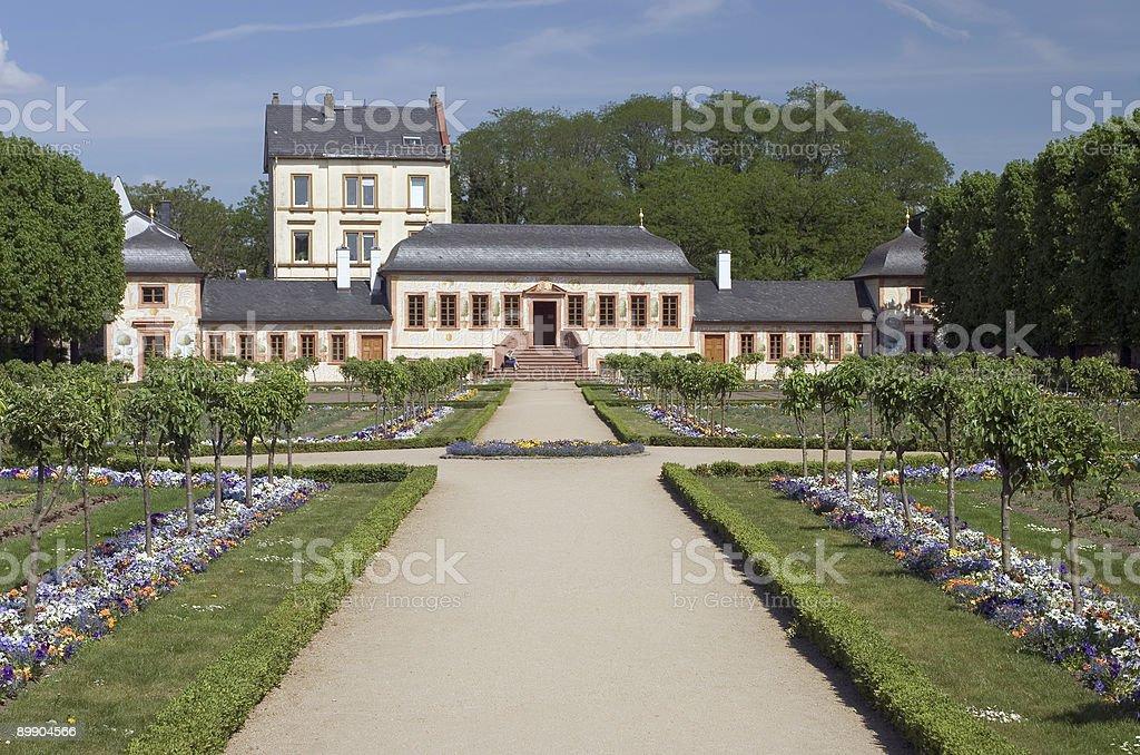 Prinz Georgs-Garten royalty-free stock photo