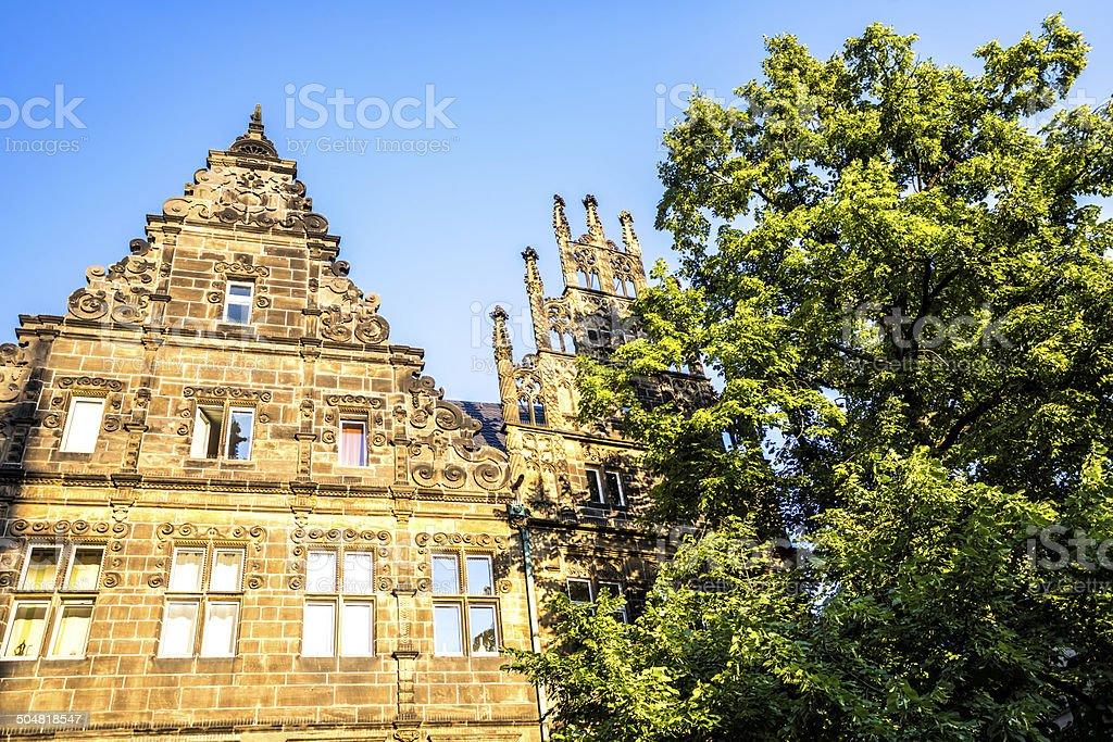Prinzipalmarkt in Münster, Germany stock photo