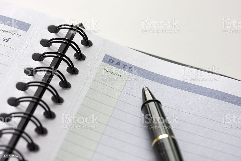 Priority TODO List stock photo