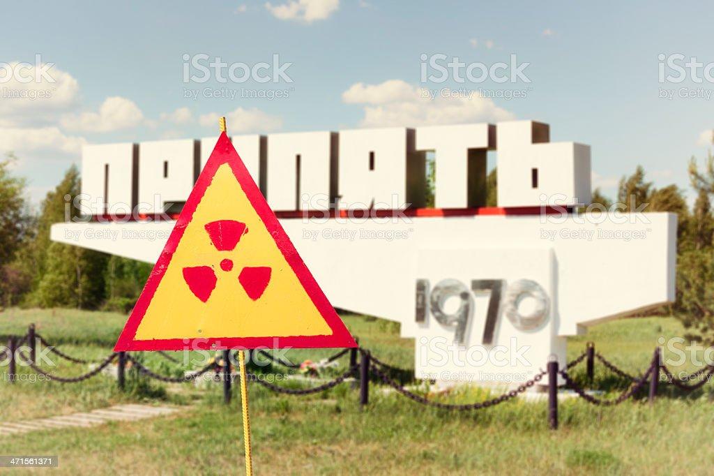 Pripyat, Chernobyl, Ukraine royalty-free stock photo