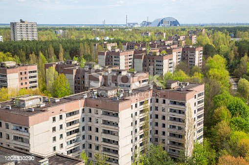 istock Pripyat city in Chernobyl 1208830290