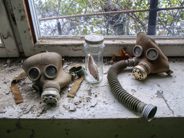 Pripjat in der Tschernobyl-Sperrzone, Ukraine, 2016 – Foto