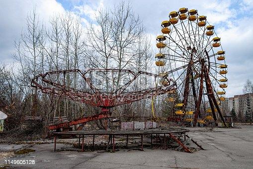 istock Pripyat (Chernobyl Zone) 1149605128