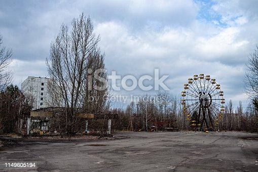 istock Pripyat (Chernobyl Zone) 1149605194