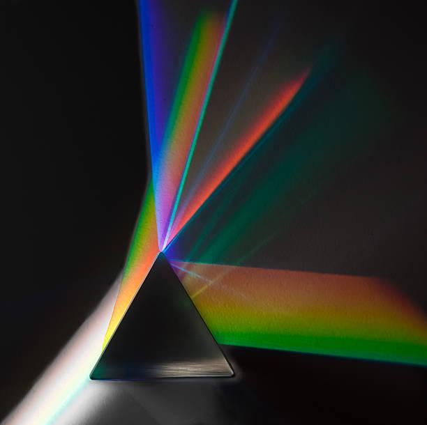prism light - lichtbreking stockfoto's en -beelden