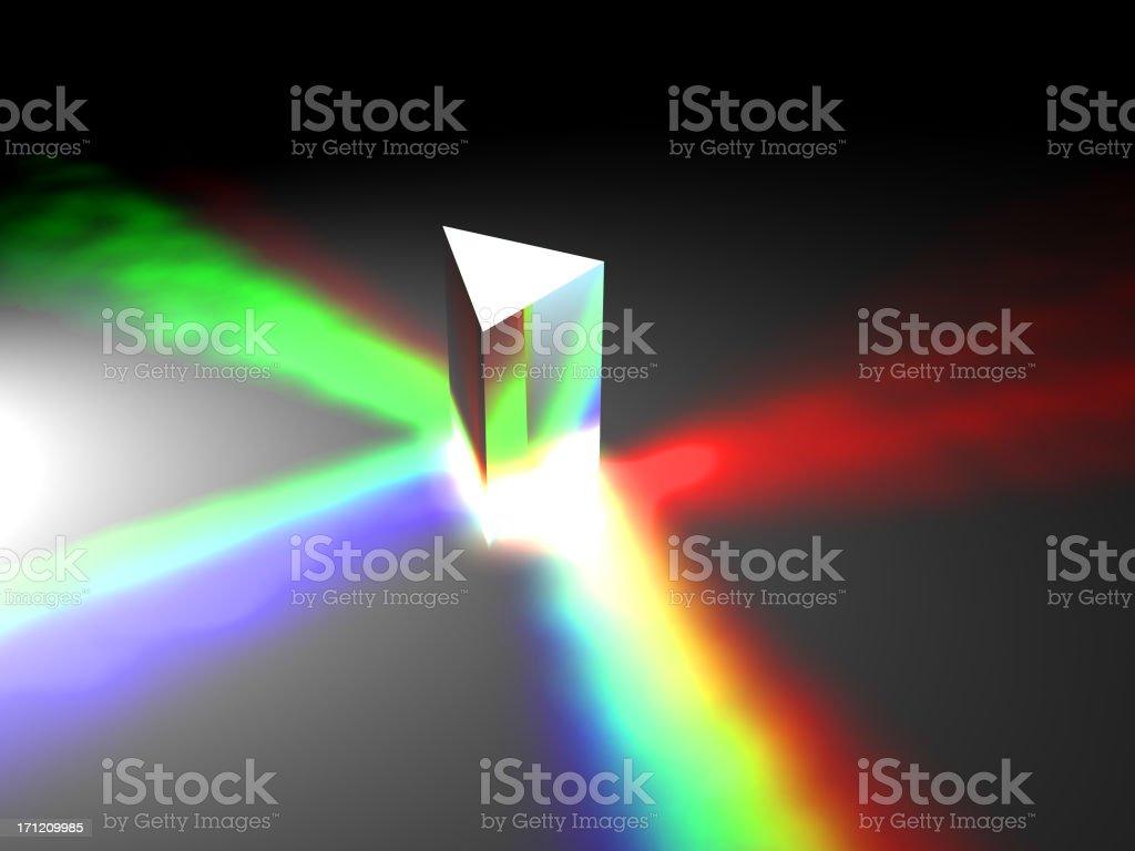 prism royalty-free stock photo