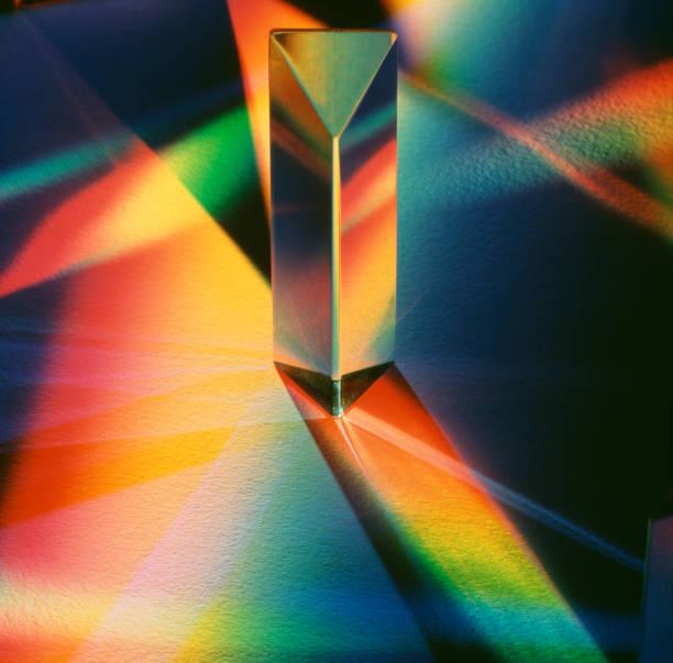 prisma - lichtbreking stockfoto's en -beelden