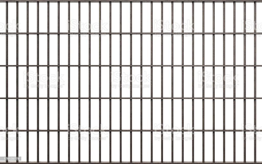 Prison Bars - Royalty-free Boundary Stock Photo