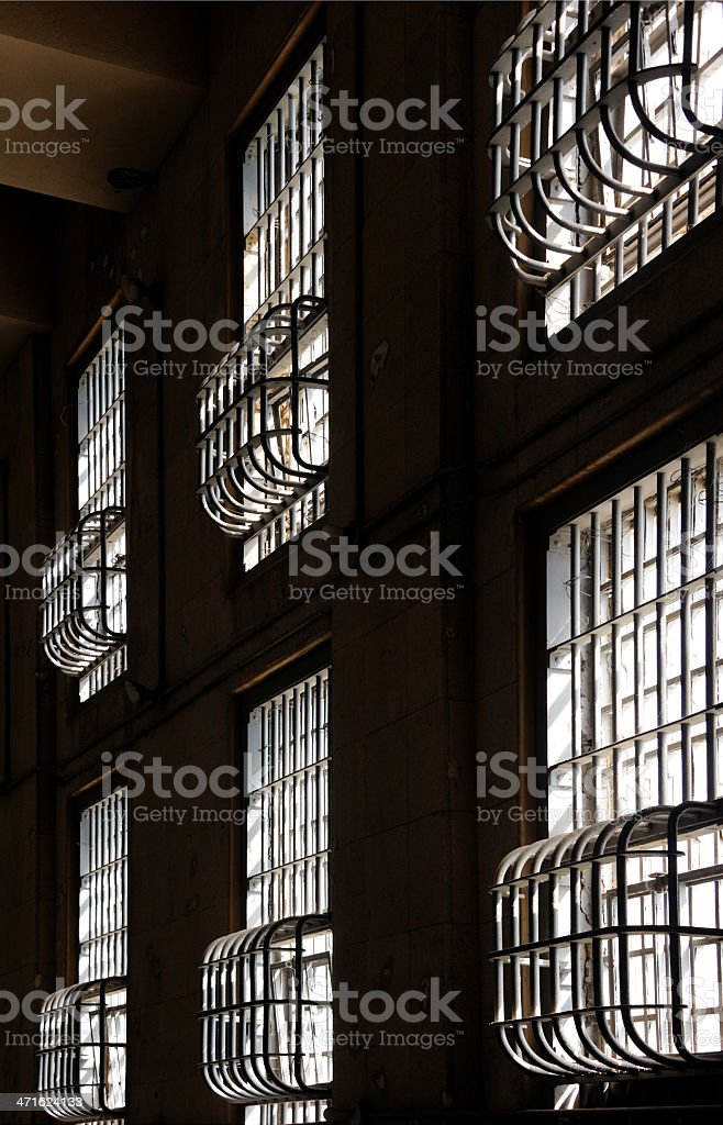 Prison Bars royalty-free stock photo