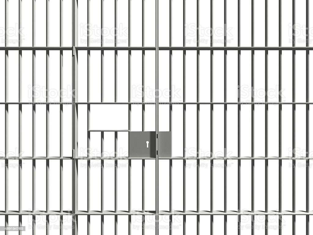 prison bars stock photo