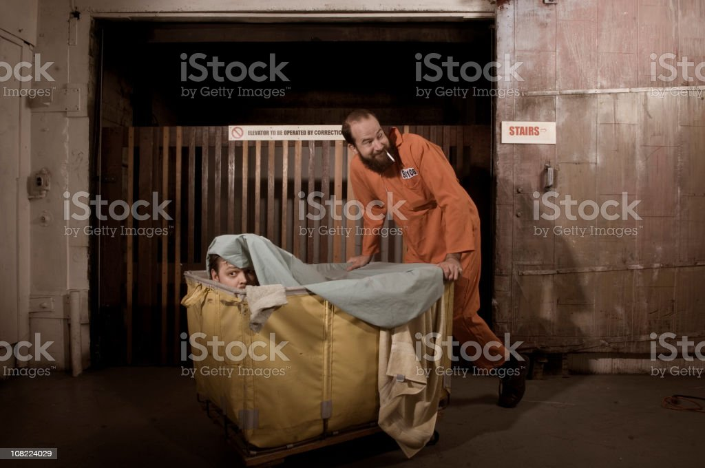 Prison Break stock photo