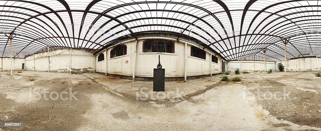 prison inside royalty-free stock photo