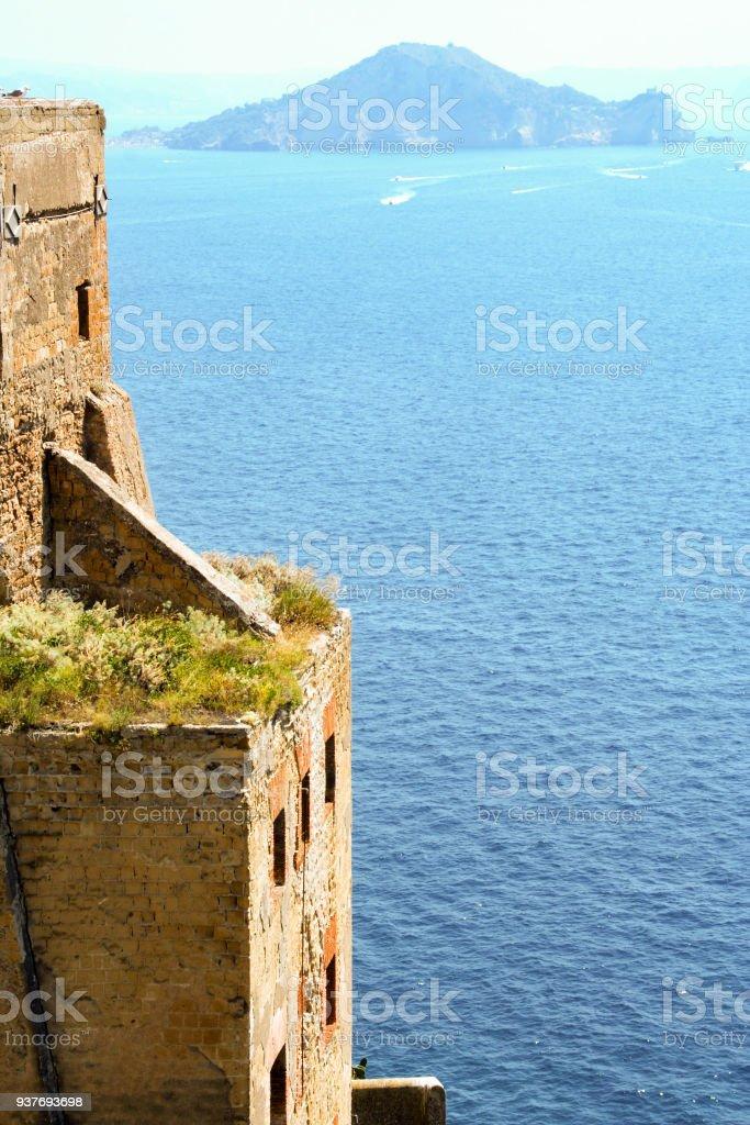 Prison of Procida stock photo
