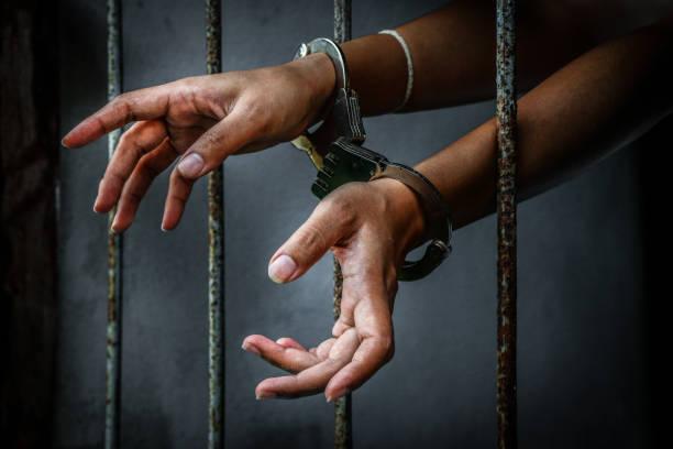 Prisoner in prison – zdjęcie