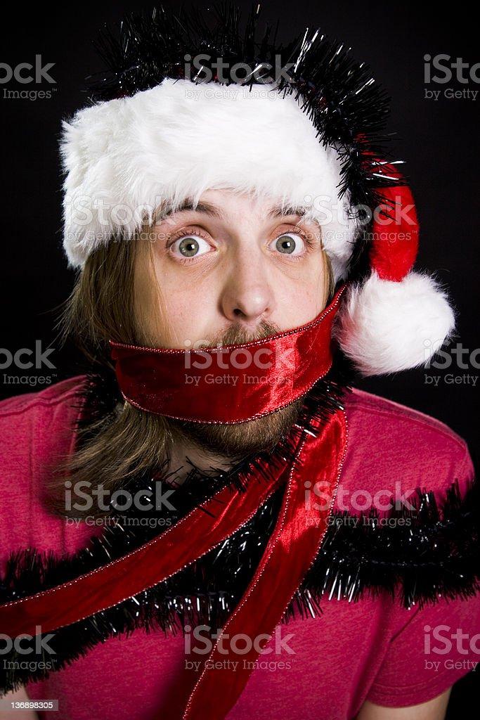 Gefangener of Christmas-englische Redewendung – Foto