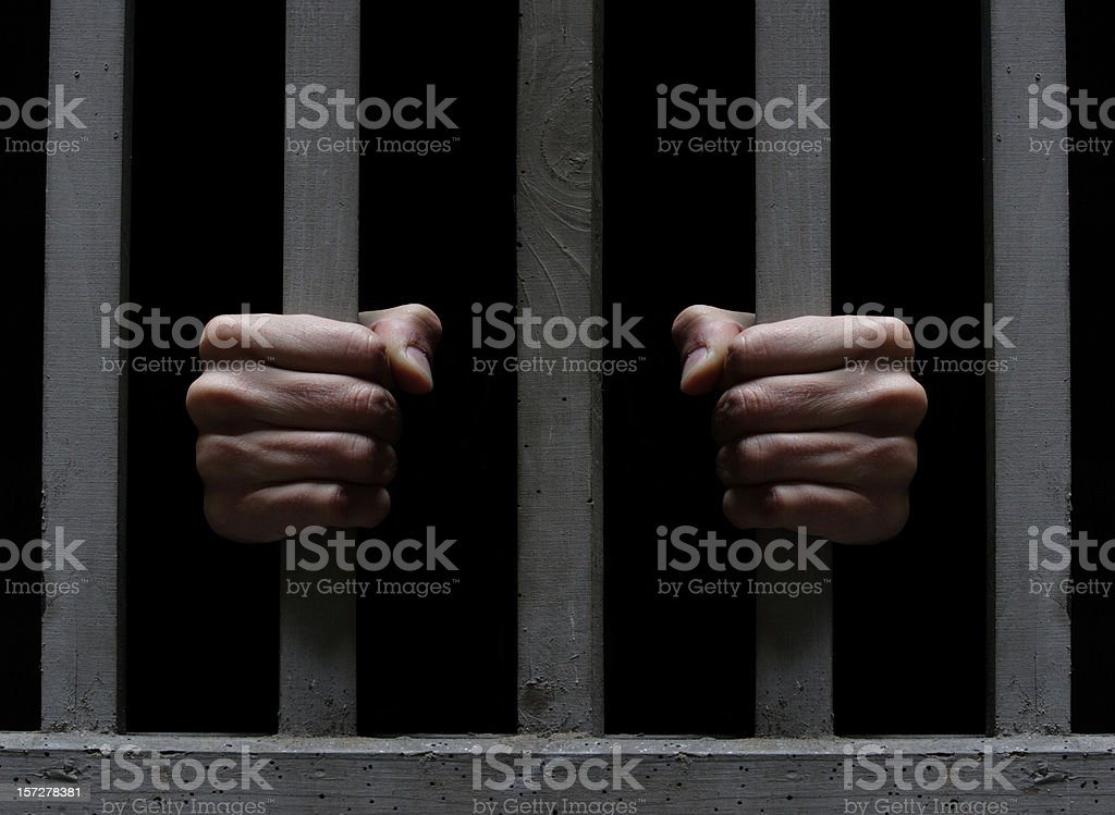 Prisoner XL stock photo